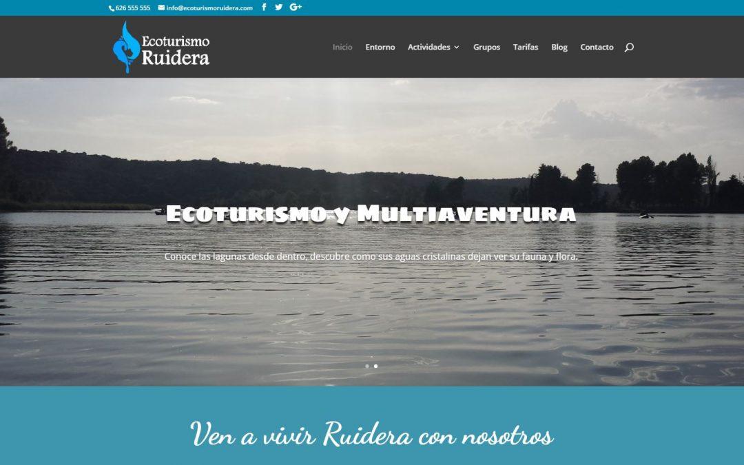 Ecoturismo Ruidera estrena página web