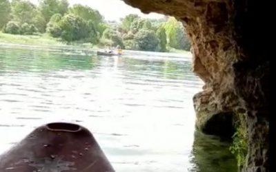 La cueva de la Laguna de San Pedro