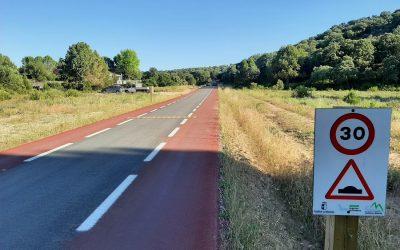 Circulación en las lagunas de Ruidera: ¡nueva carretera!